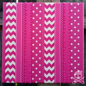 hot_pink_bow_board_12x12